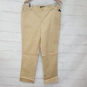 Ralph Lauren Tan Dress Pants Slacks 14